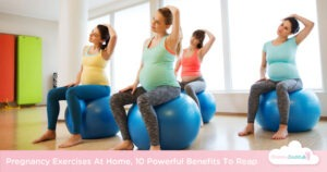 pregnancy exercises at home