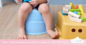 6 tips for handling potty training setbacks